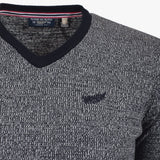 Pull Col V - Classic All Blacks