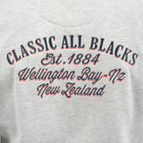 Sweatshirt à Capuche en Coton Brodé - Ecru - Classic All Blacks