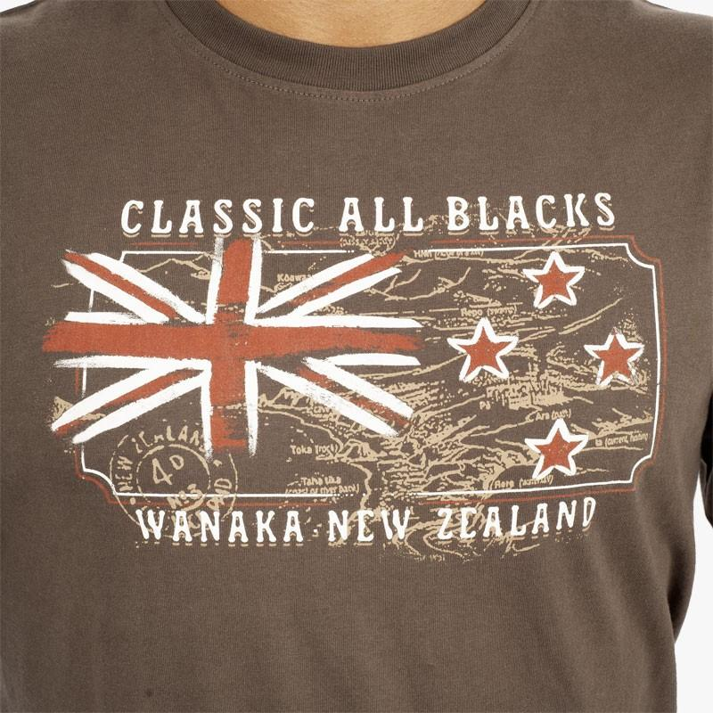 Tshirt Kaki Wanaka - Classic All Blacks