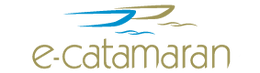 Electric catamaran logo