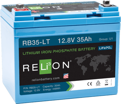 Battery Opt - 12V 35Ah Relion Lithium Battery For FUN X2