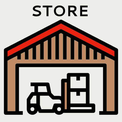 DELIVERY ZONE At Store