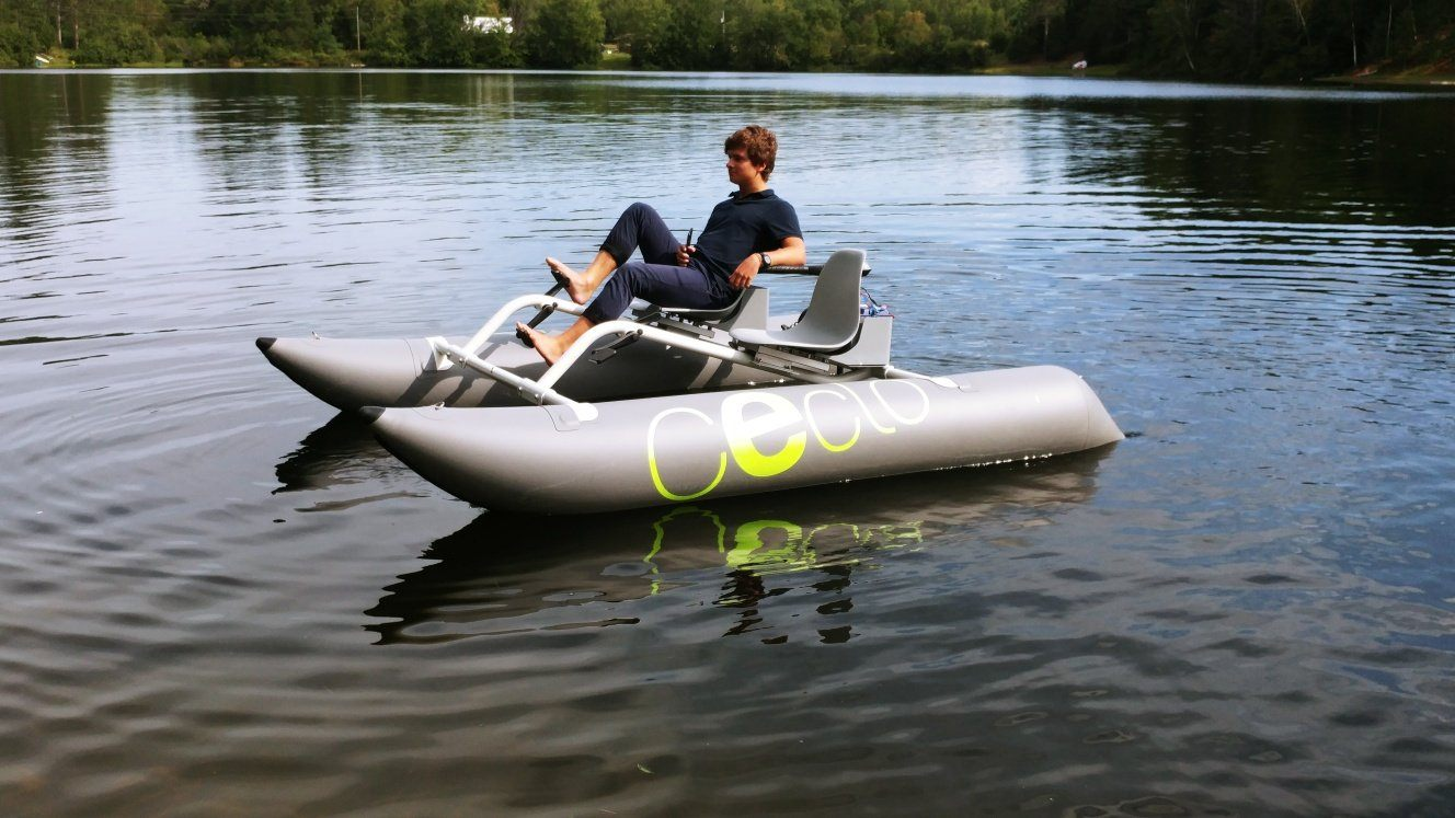E-CATAMARAN CECLO NA - - FUN X2 - Foldable Electric Boat