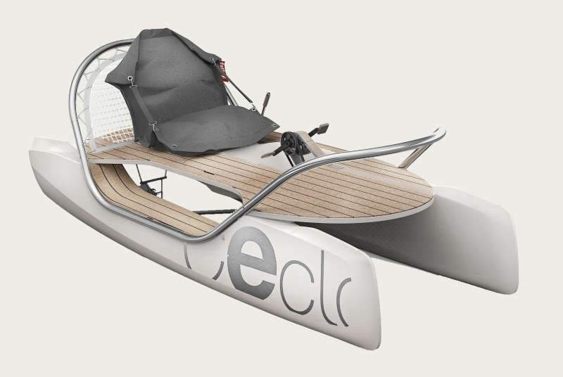 E-CATAMARAN CECLO  - ORIGINAL Hybrid - Electric Hybrid Catamaran