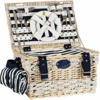 KHAP Supplier - Picnic Basket Marine For 2 People