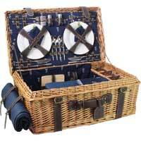 KHAP Supplier - Picnic - Blue Prestige Champs-Elysées Picnic Hamper For 4 People