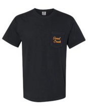 Load image into Gallery viewer, Black Sweet Crack Short Sleeve Pocket Tee