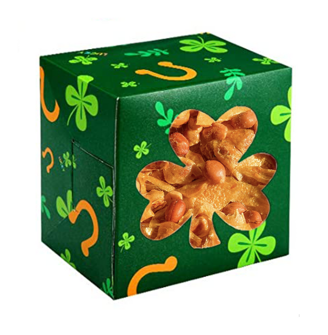 St. Patrick's Day Limited Edition Golden Peanut Brittle (8oz)