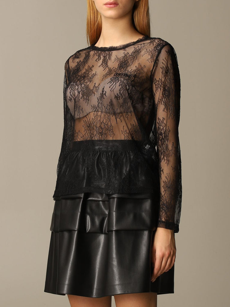 t-shirt in pizzo Ermanno Scervino
