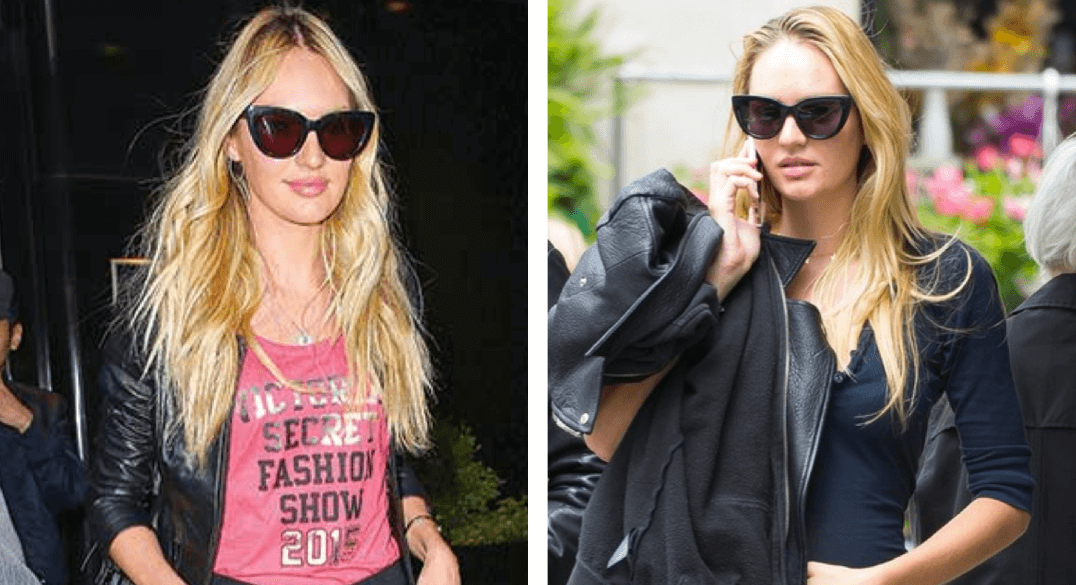 Candice Swanepoel wearing Sunday Somewhere Sunglasses