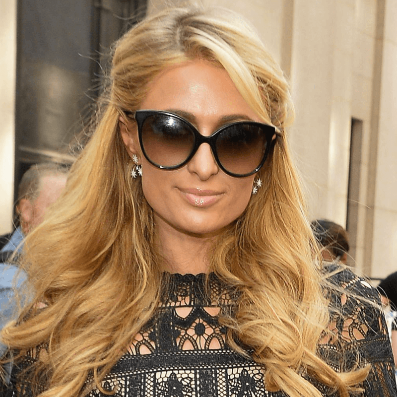 Paris Hilton wearing Sunday Somewhere Sunglasses