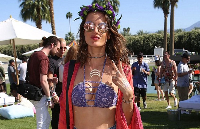 Alessandra Ambrosio at Coachella 2016