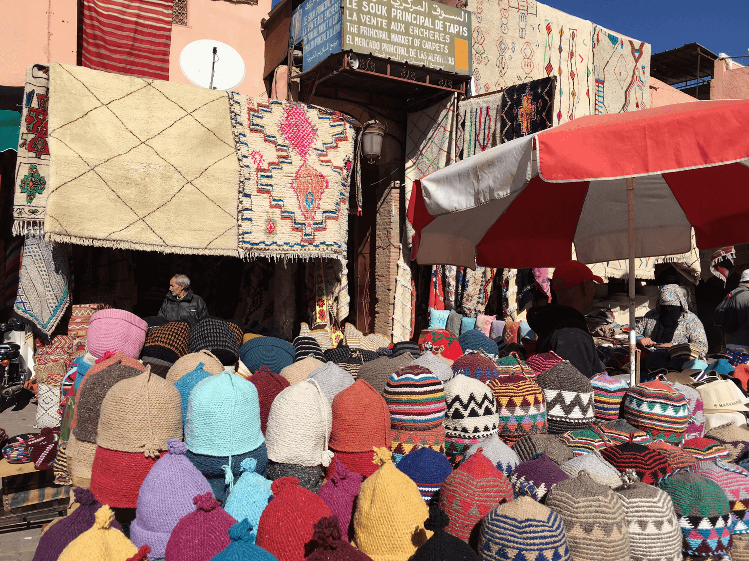 Markets, Marrakesh Morocco