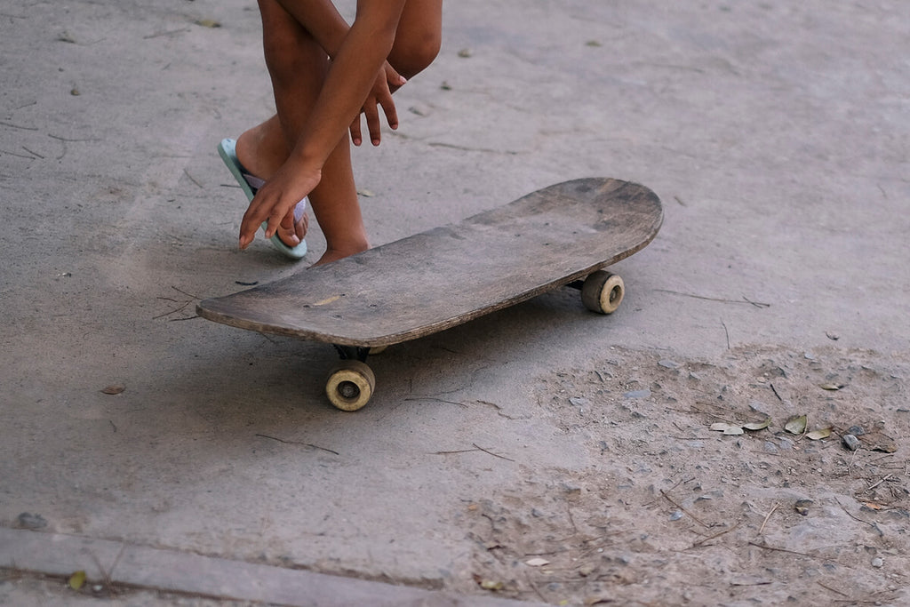 Skateboarding through the streets of Cuba