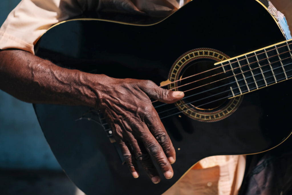 Sounds of the Guitar on the streets of Havana, Cuba