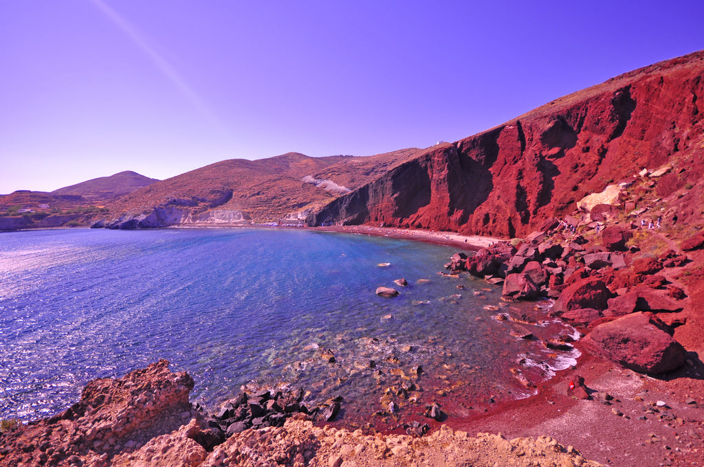 Red Beach, Santorini Greece
