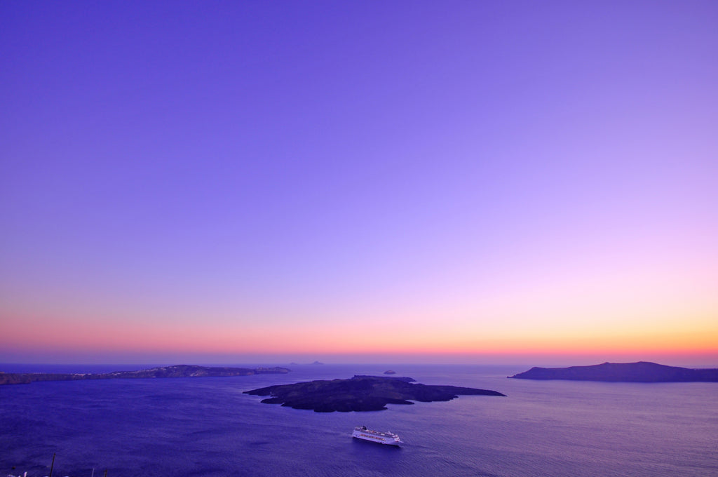 Sunset in Santorini, Greence