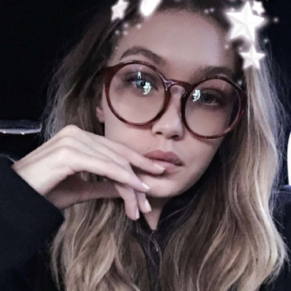 GiGi Hadid wearing Sunday Somewhere Matahari Sunglasses