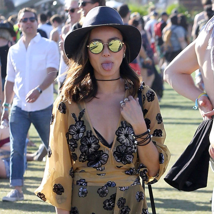Jamie Chung Sunday Somewhere NED sunglasses