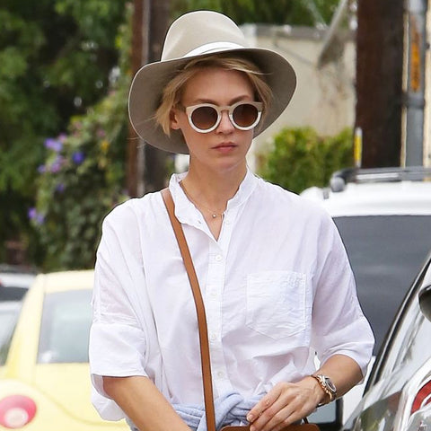 January Jones wearing Sunday Somewhere sunglasses