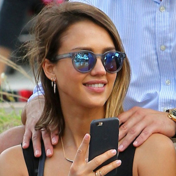 Jessica Alba | Soelae Blue | Women's Sunglasses