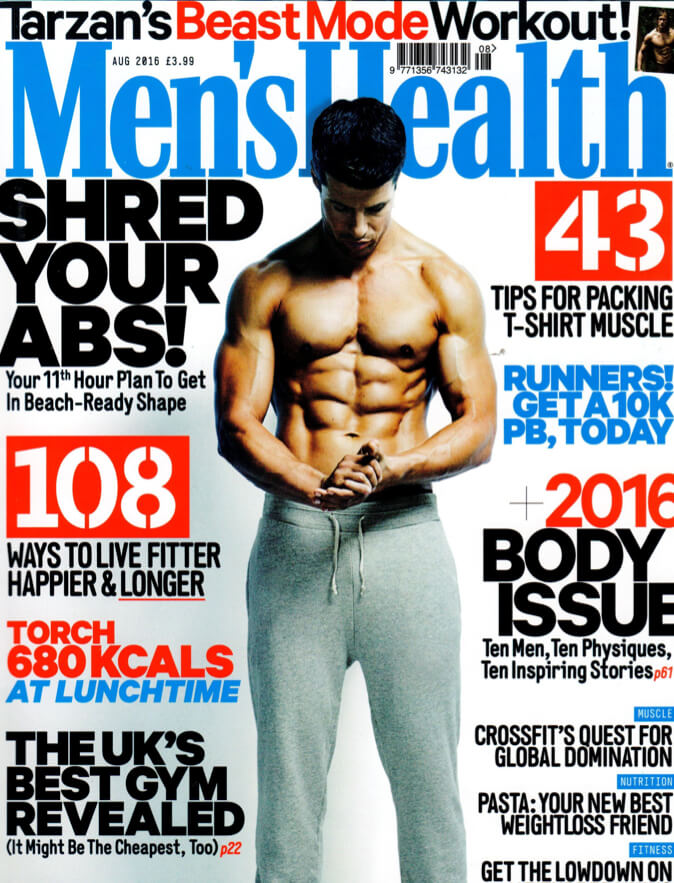 Men's Health UK August 16' Issue