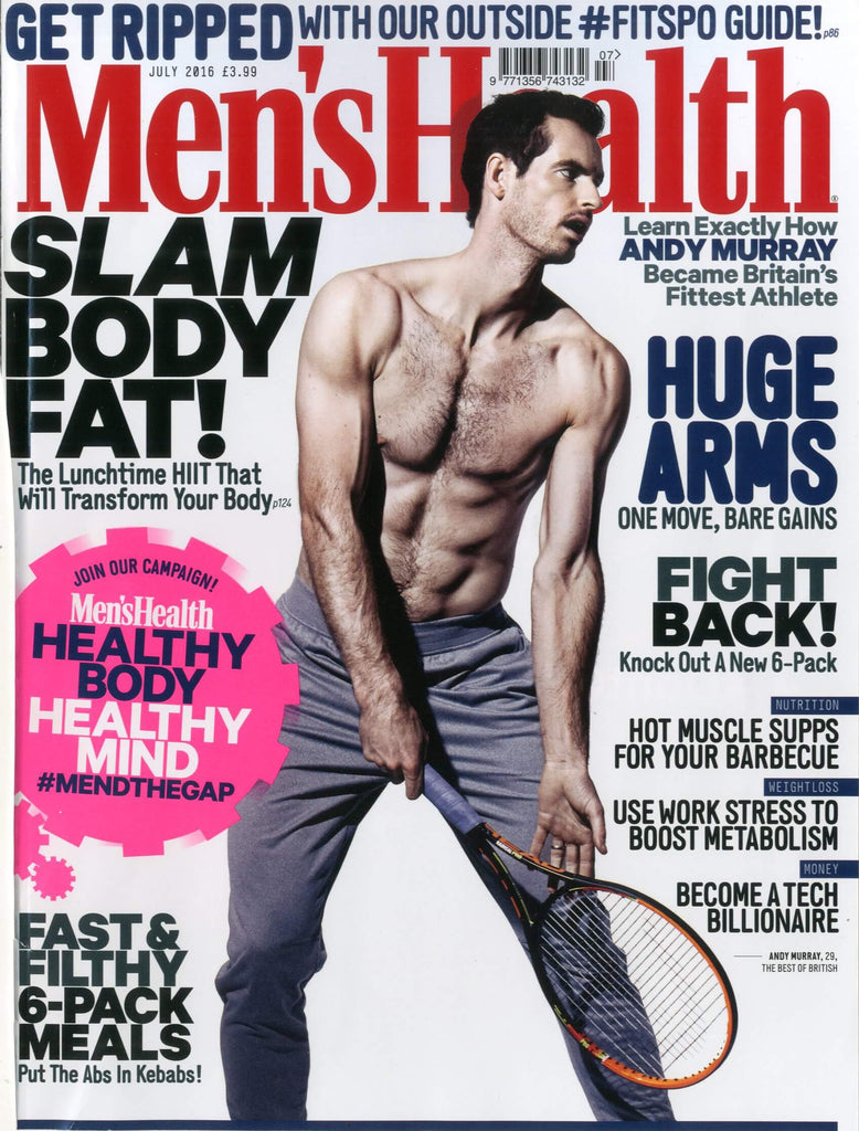 Men's Health - July 2016 Cover