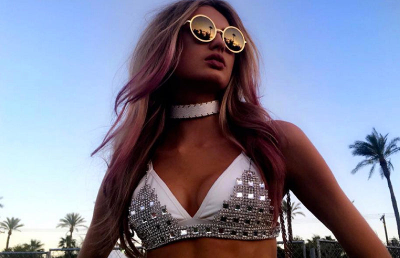 Romee Strijd Coachella 2016 Outfit