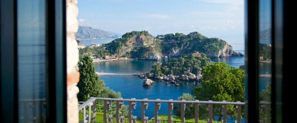 Room with a view - Hotel Villa Carlotta in Taormina