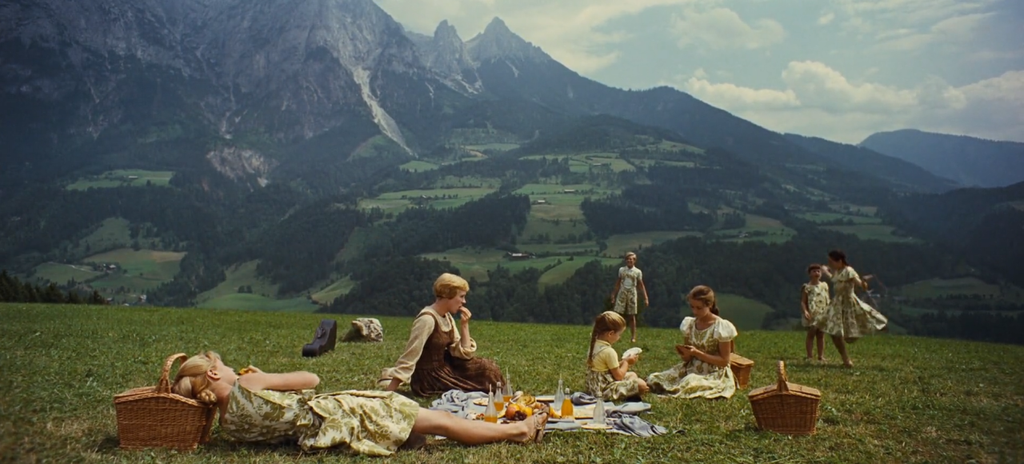 The sound of music - picnic scene