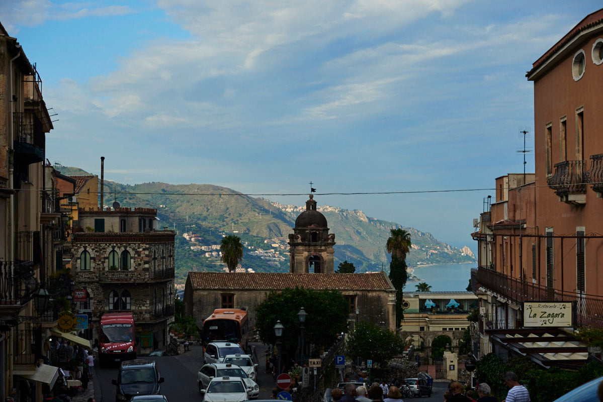 Buildings of Taormina, Sicily
