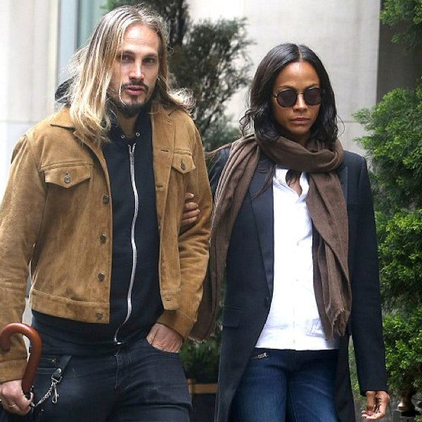 Zoe Saldana wearing our Sunday Somewhere sunglasses