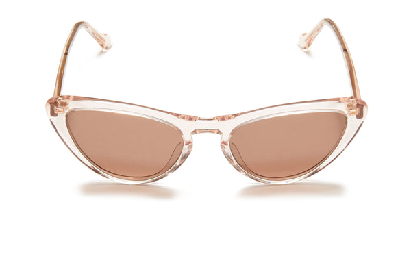 Sunday Somewhere Bon Bon Champagne Women's Cat-Eye Sunglasses