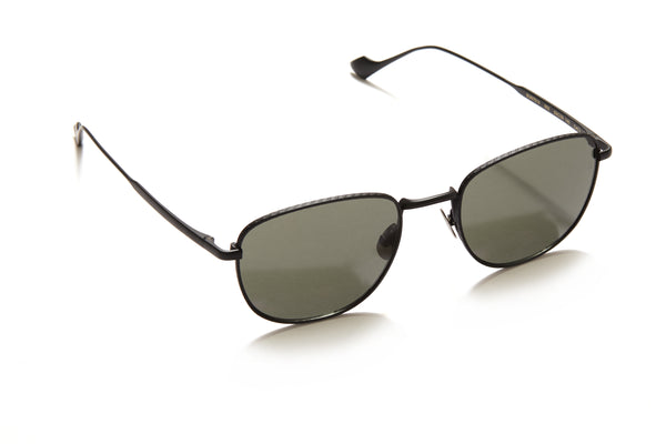 Sunday Somewhere Cam in Black Unisex Metal Sunglasses