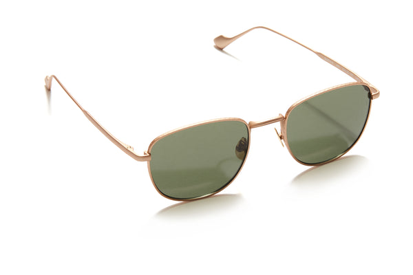 Sunday Somewhere Cam in Gold Unisex Metal Sunglasses
