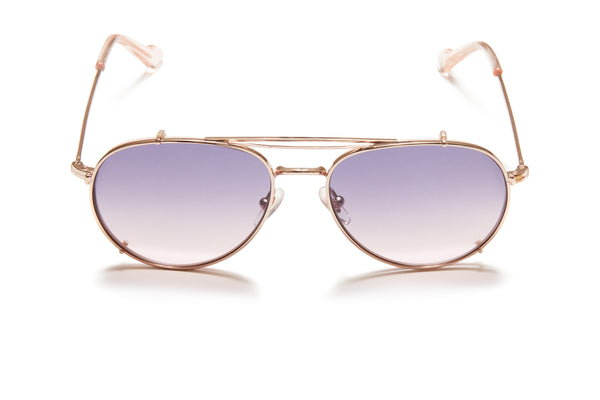 Sunday Somewhere Connie Pink Unisex Aviator Optical Frame
