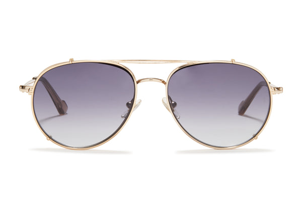 Sunday Somewhere Connie Gold Unisex Aviator Optical Frame