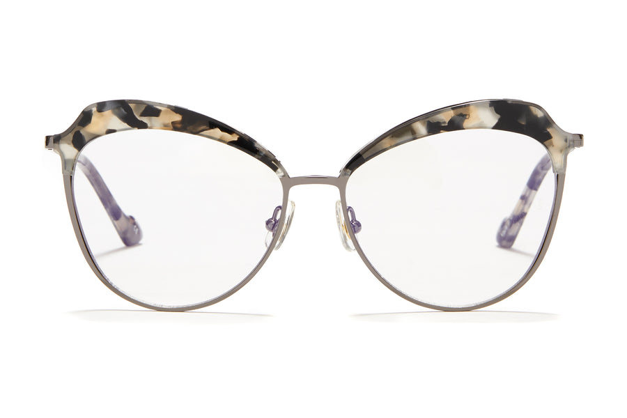 Sunday Somewhere Dottie in Black Tort Women's Oversized Combination Optical