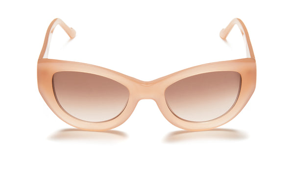 Sunday Somewhere Harper Pink Women's Oversized Acetate Sunglasses