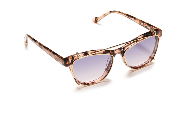 Sunday Somewhere Mary Pink Tort Women's Acetate Optical Frame