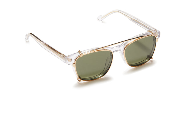 Sunday Somewhere Pete Crystal Unisex Acetate Optical Frame