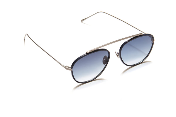 Sunday Somewhere Rocky in Antique Gun Unisex Aviator Sunglasses