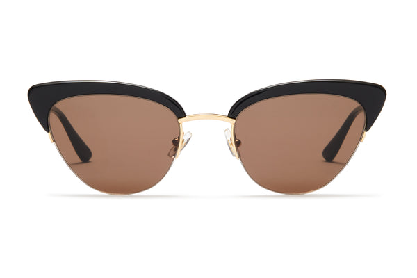 Sunday Somewhere Pixie Black Women's Cat Eye Sunglasses