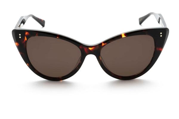 Piper cat-eye sunglasses in tort