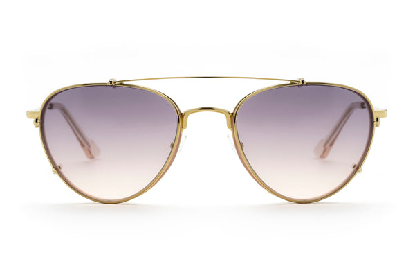 Veronica aviator optical in pink