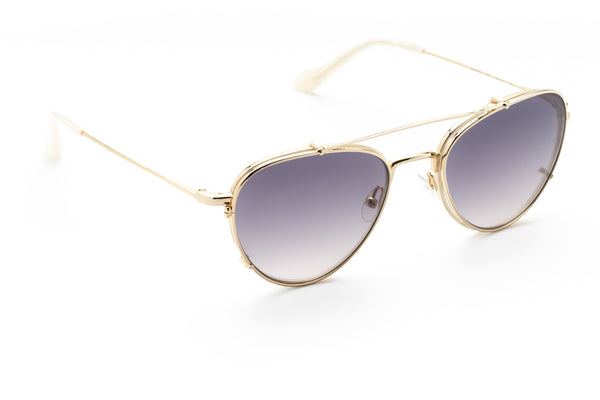 Veronica aviator optical in pearl