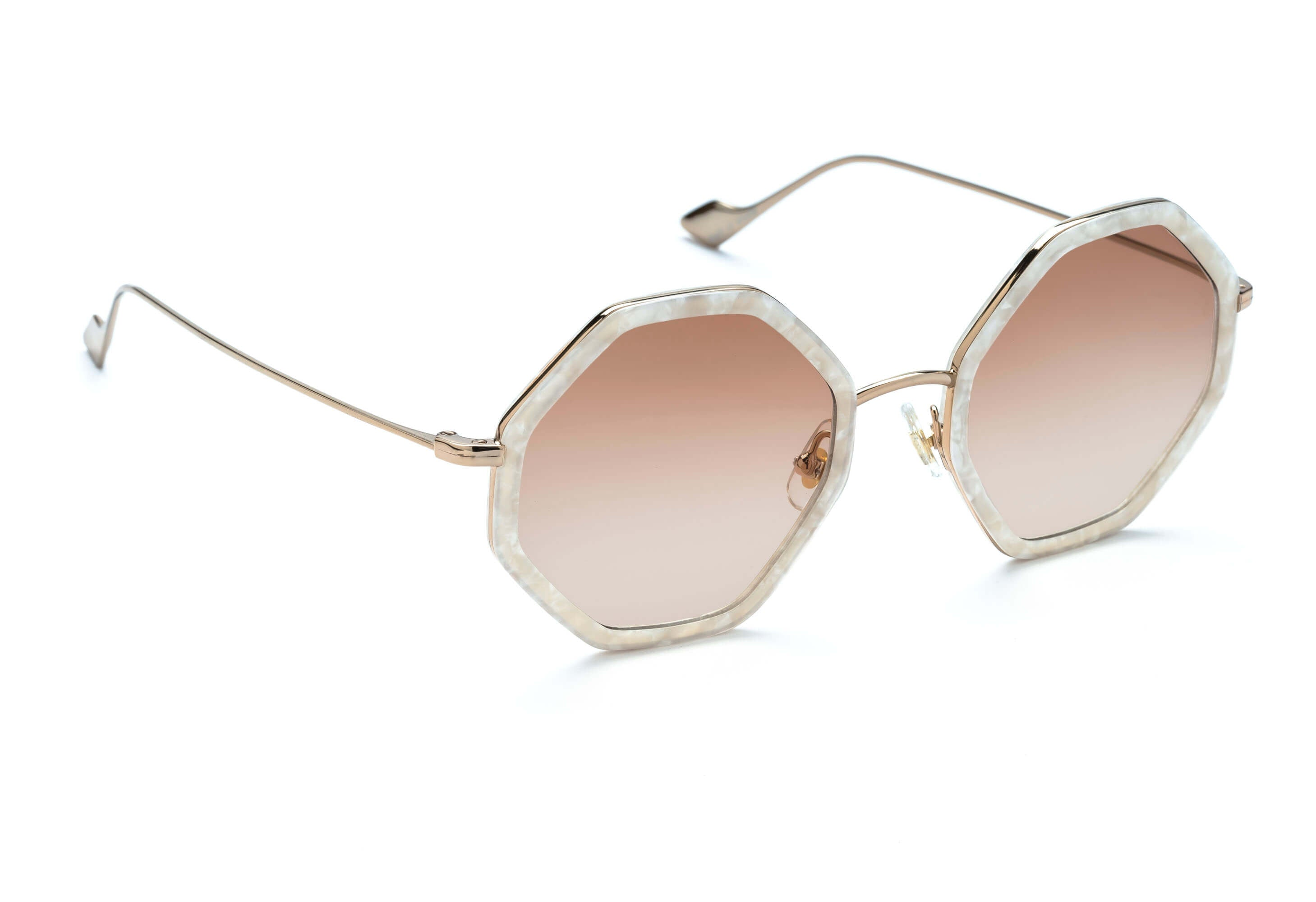 1cc3f799f0 Hitomi geometric sunglasses in mother of pearl ...