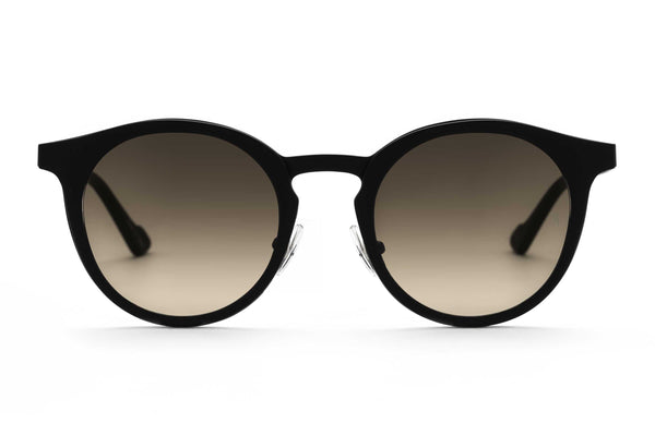 Shannon round sunglasses in black