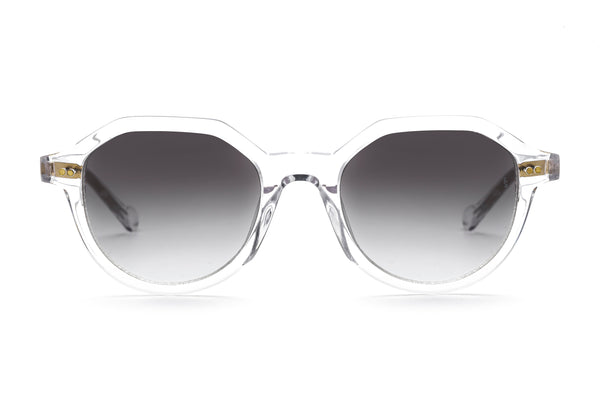Yeeha geometric sunglasses in crystal