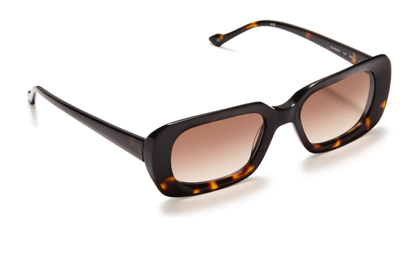 Sunday Somewhere Ursula Dark Tort Women's Acetate Sunglasses